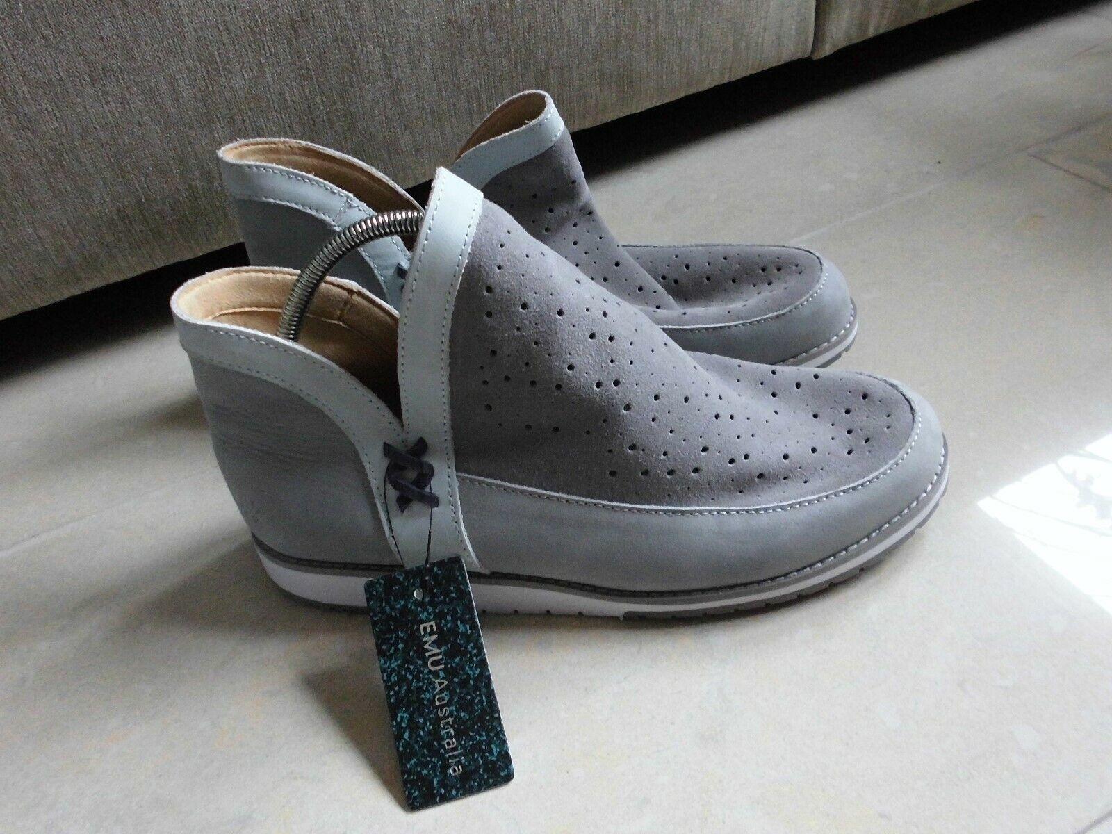 EMU Australia* Leder*  Halbschuhe Damen  Boots Gr. 39 NEU Grau