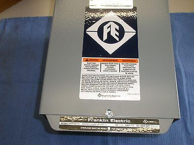 1-12 Hp 230v 1ph Franklin Control Box Submersible Water Pump 2823008110