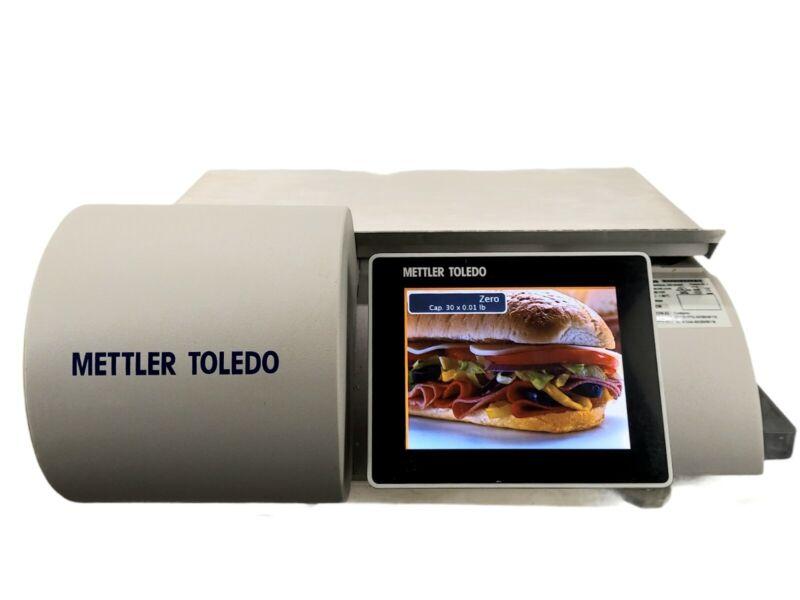 Mettler Toledo UCCW Touchscreen Deli Scale w/ Printer & Color Back Screen