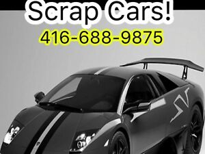 ✅✅BEST  CASH ✅✅FOR SCRAP CARS & USED CARS ☎️4166889875