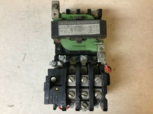 General Electric GE CR307C1**HAA Size 1 Motor Starter With 120 Volt Coil