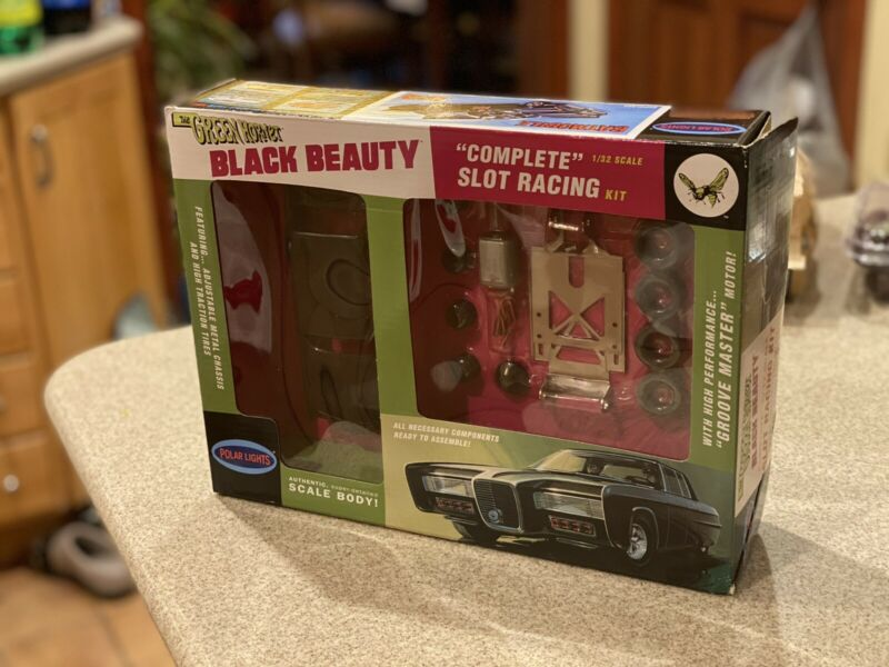 The Green Hornet Black Beauty Slot Car 1/32 Scale