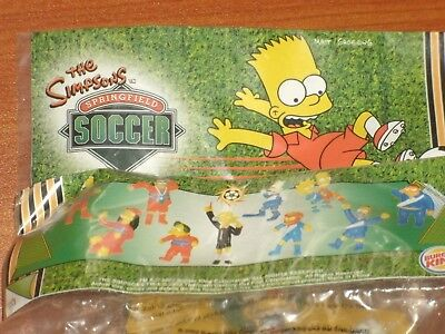 Burger King 'The Simpsons Springfield Soccer' 2002 Fast Food World Cup Tie-In B