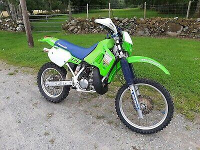 Kawasaki Kdx 200 Enduro Road Legal