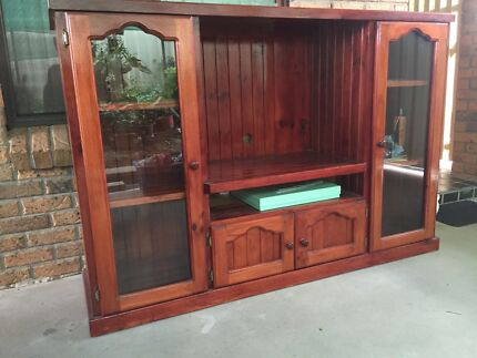Lovely wooden entertainment unit for sale