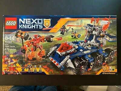 New factory sealed LEGO Nexo Knights Axl's Tower Carrier 70322,  Retired