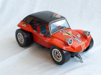 Taiyo Meyers Many Dune Sand Buggy Blech Kunststoff Battery Japan Tin Toy 20cm