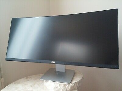New Dell U3419W 34-inch Curved 21:9 3440x1440 LED LCD