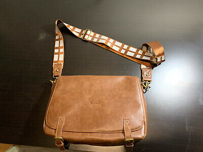 Chewbacca Messenger Bag (Star Wars Chewbacca Messenger Bag Real Leather Rare See)