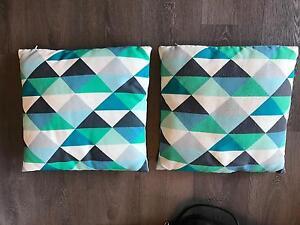 Cushions (x2) Blue Baulkham Hills The Hills District Preview