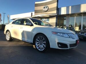 2012 Lincoln MKS ECOBOOST AWD NAVI-PARK DUAL SUNROOF