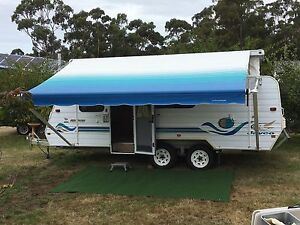 Jayco Freedom - Pop Top Caravan with 3 bunks Mount Nelson Hobart City Preview