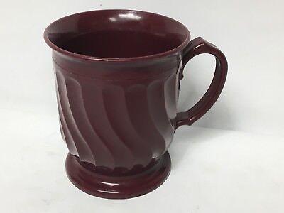 Turnbury Dinex 3000 Cranberry DX3000 Insulated Cup Mug Plastic Melmac Melamine