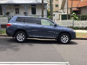 Toyota Kluger - KXR (AWD) - 2013 - less than 30,000kms Neutral Bay North Sydney Area Preview