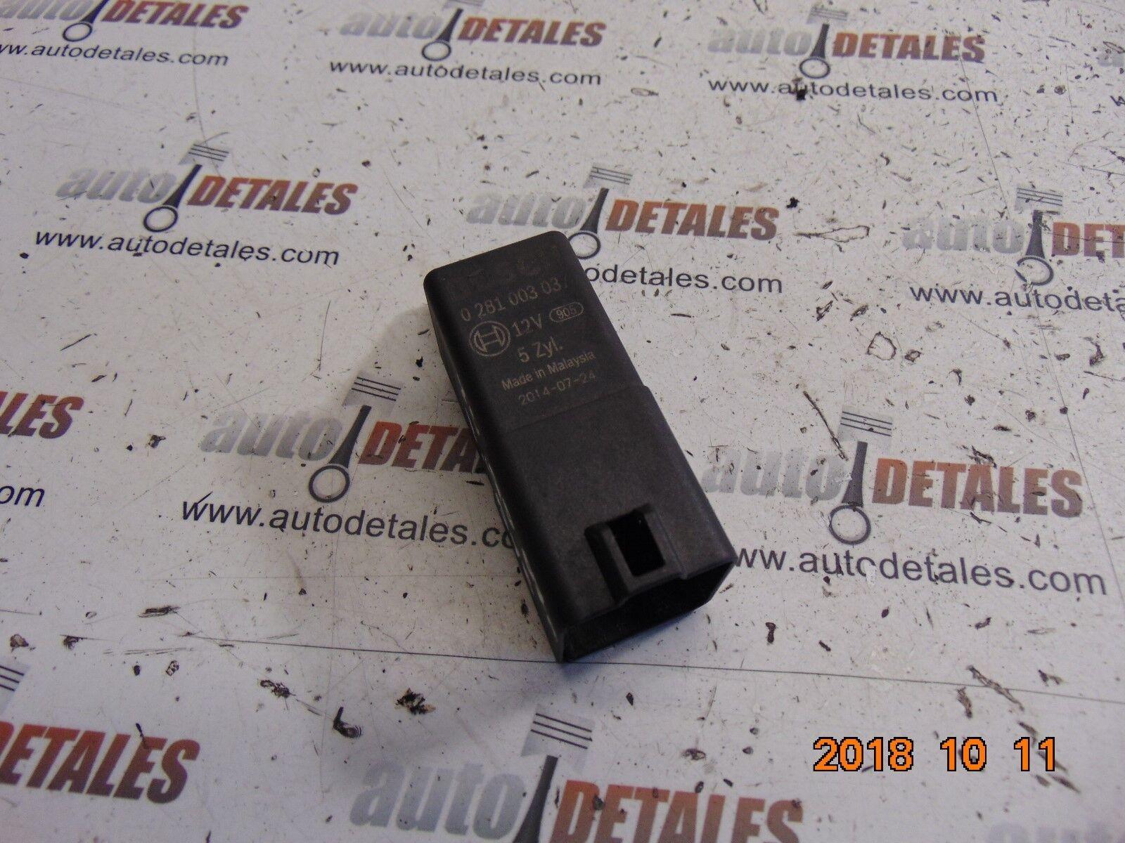 Volvo XC90 2.4 D5 glow plug relay 31342687 used 2007
