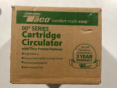 Taco 0011-f4 18-hp Cast Iron Cartridge Circulating Pump New