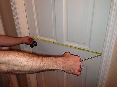 Measuring a doorway