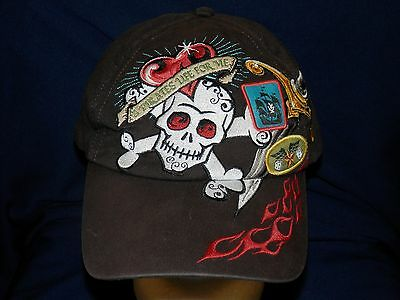 trucker hat baseball cap A PIRATES LIFE FOR ME retro style rare rave cool nice](Cool Pirate Hats)