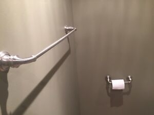 Towel rod and toilet paper holder- Newmarket