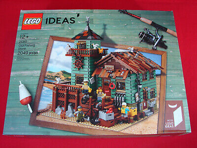 LEGO Ideas 21310 Old Fishing Store (New, Sealed, 2017, 2049 pieces)