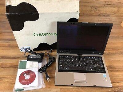 Gateway Convertible Tablet - (Gateway M280E Windows XP Convertible Tablet Laptop PC 14