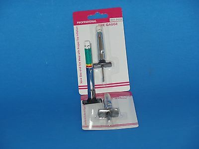 1 ColorTire Tread Depth Gauge standard metric gage guage 32nds and 25 MM