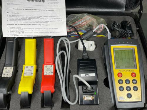 Ideal 800 Series Power Quality Analyzer w/ Accessories & Case 61-806 X