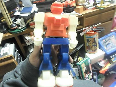 Vintage made in Taiwan Robot Spins and moves Arms