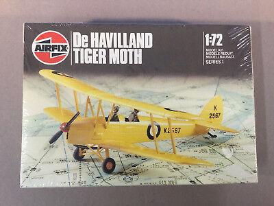 Airfix Plastik Modell.Bausatz Flugzeug - De Havilland Tiger Moth, 1:72