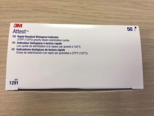3M 1291 Rapid Readout Biological Indicator Qty=50/Box
