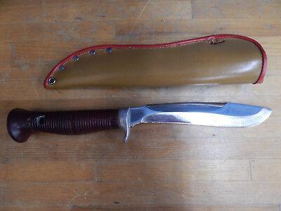 "Puma ""Sea Hunter"" 6363 Hunting Knife w/ Sheath, Germany."