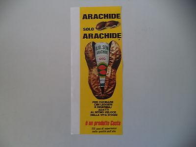 advertising Pubblicità 1974 OLIO DI SEMI DI ARACHIDE OIO