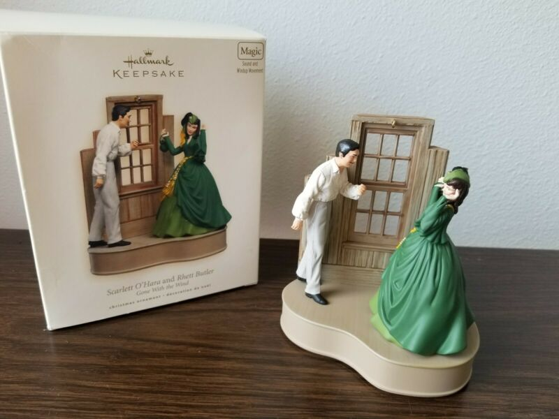2007 Halmark Gone With The Wind Ornament