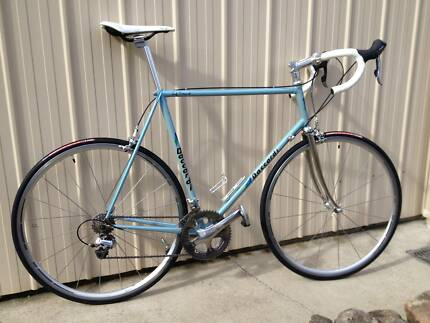 Daccordi road bike: vintage steel frame with 10-speed Dura-Ace Weston Creek Preview