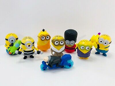 Despicable Me Minion & Felonious Gru 8 Piece Toy Lot (Despicable Me Felonious Gru)