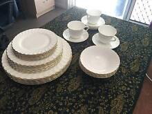 WEDGWOOD BON CHINA DINNER SET 'GOLD CHELSEA' Mudgeeraba Gold Coast South Preview