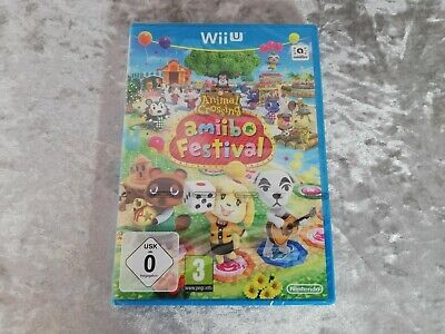 Animal Crossing: Amiibo Festival (Nintendo Wii U) Brand New and Sealed Game Only