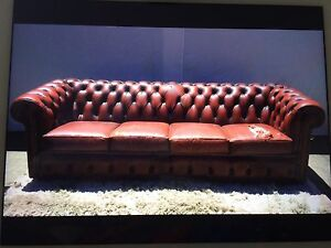 4 Seater Original Moran Vintage Chesterfield couch/Lounge Keilor Brimbank Area Preview