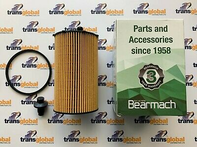 Oil Filter & Sump Plug for Land Rover Discovery 3 4 Bearmach 1311289 1013938