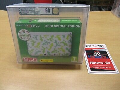 NINTENDO 3 DS XL - LUIGI SPECIAL EDITION - VGA 90 NM+/MT...