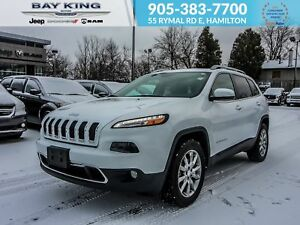 2018 Jeep Cherokee 4X4, REMOTE START, HEATED SEATS, BLUETOOTH