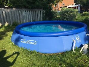 15' x 36' Summer Waves Family Size pool