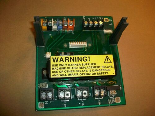 Banner Light Curtain Controller Board B1567A