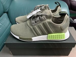 Brand New Adidas NMD R1 Trace Green Size 10.5!