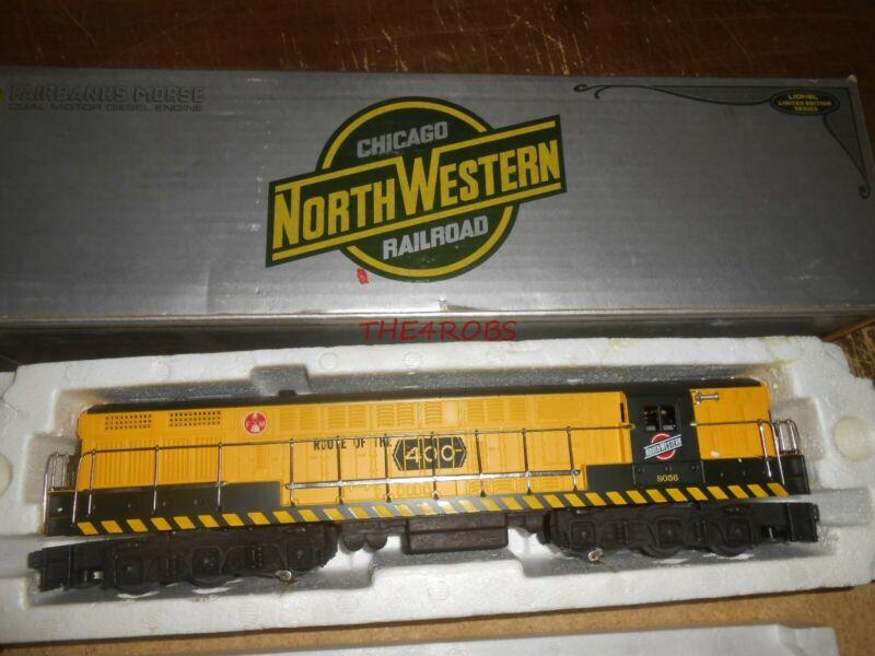 Unused Lionel Chicago & North Western Fairbanks Morse Locomotive in Box 0 Gauge