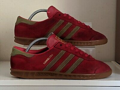 Adidas Hamburg '14 release used trainers size 8 Adisuede CW