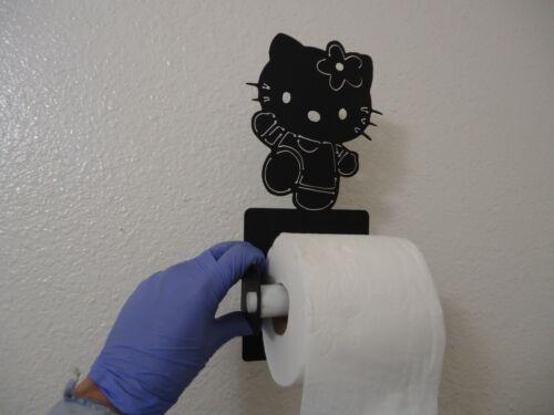 Toilet Paper Holder: Hello Kitty