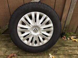 195 65 15 winter tires set for Volkswagen
