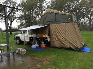 Land Rover Defender TD5 go anywhere camping Springfield Dorset Area Preview