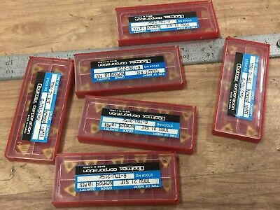 Huge Lot Of New Toolmex Tdgw Inserts Carbide